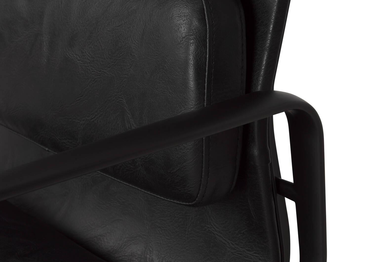 Fauteuil de bureau Handler -Wyeth noir