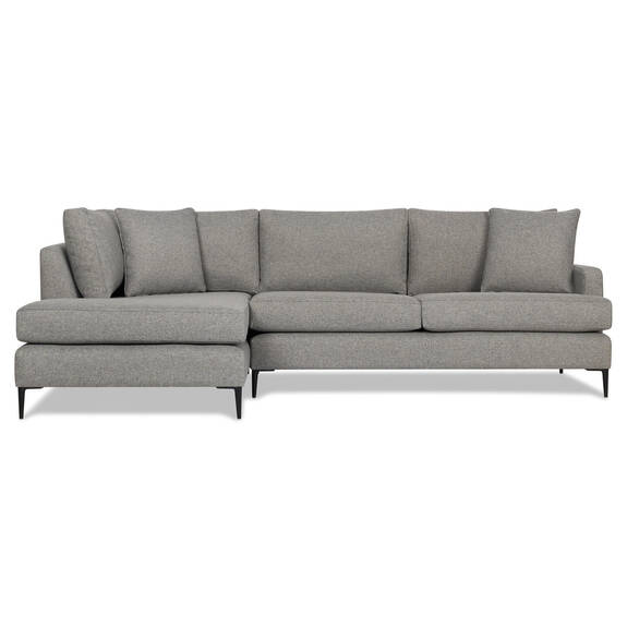Canapé d'angle Ramos -Taylor gris