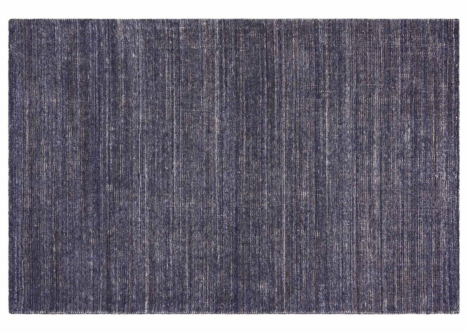 Tapis Bainbridge 60x96 bleu foncé/ivoire