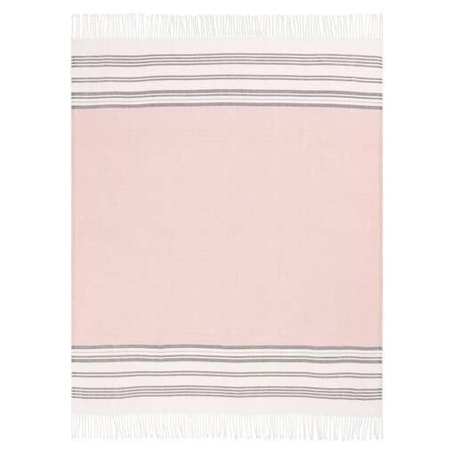Danae Throw Ballet Pink/Milk/Cobble