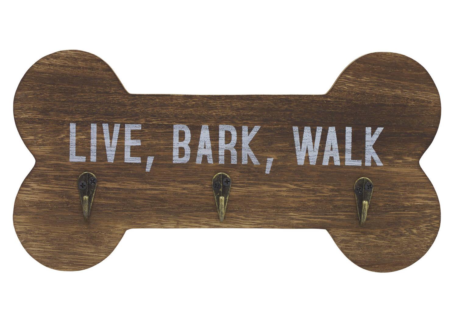 Live Bark Walk Wall Hook