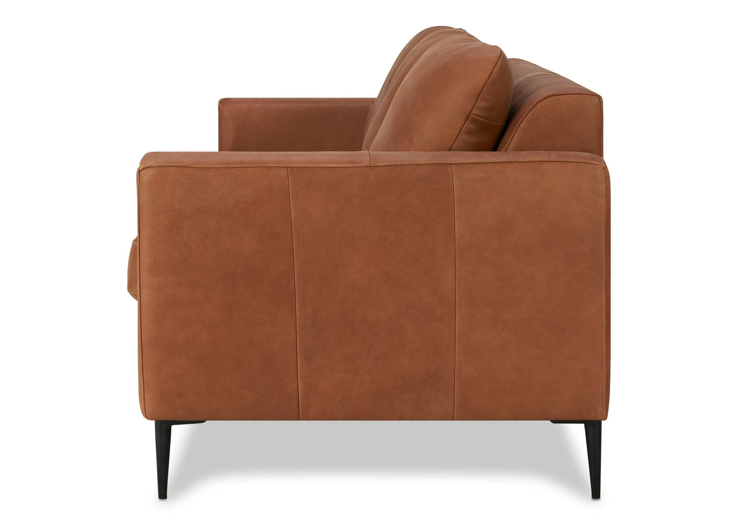 Lucca Leather Sofa -Attica Cinnamon