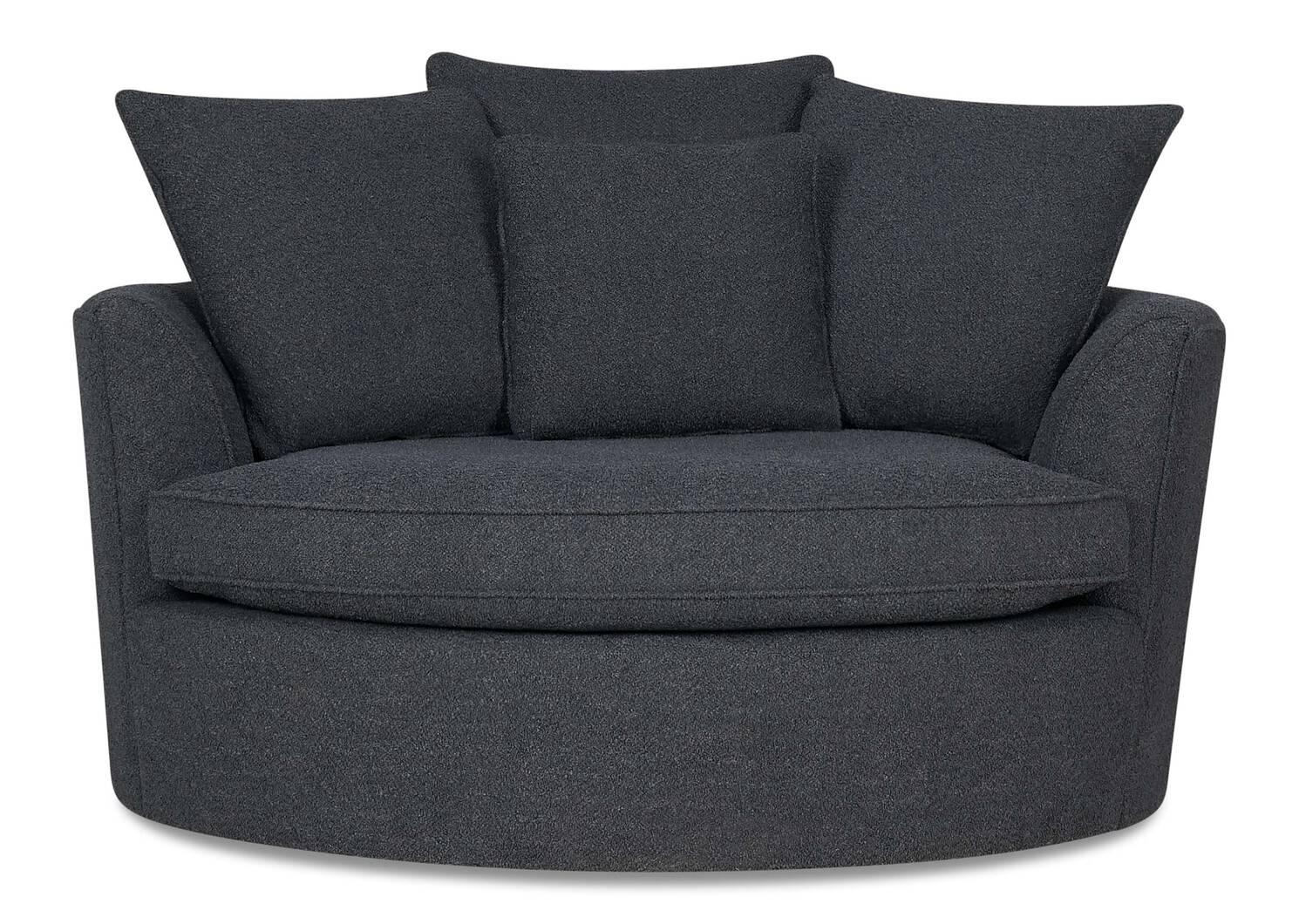 Fauteuil Nest -Remi charbon