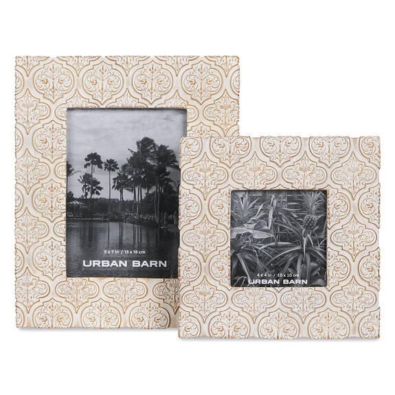 Ozzie Frames -Antique White