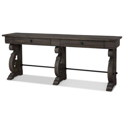 Table console Churchill -caroube