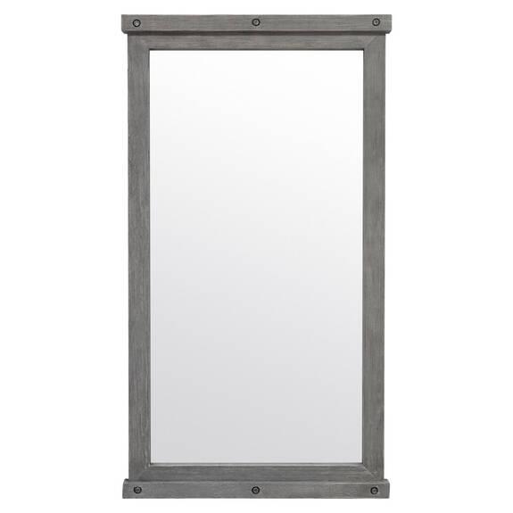 Valdes Floor Mirror Grey