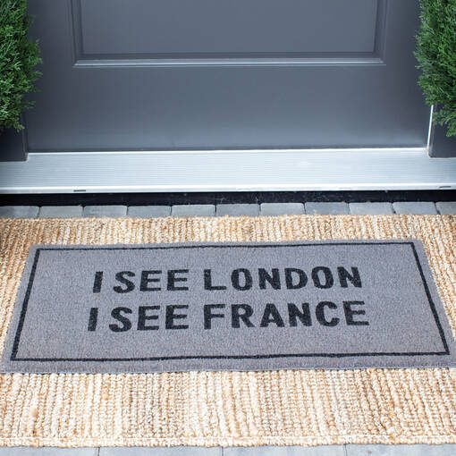 I See London Doormat Grey