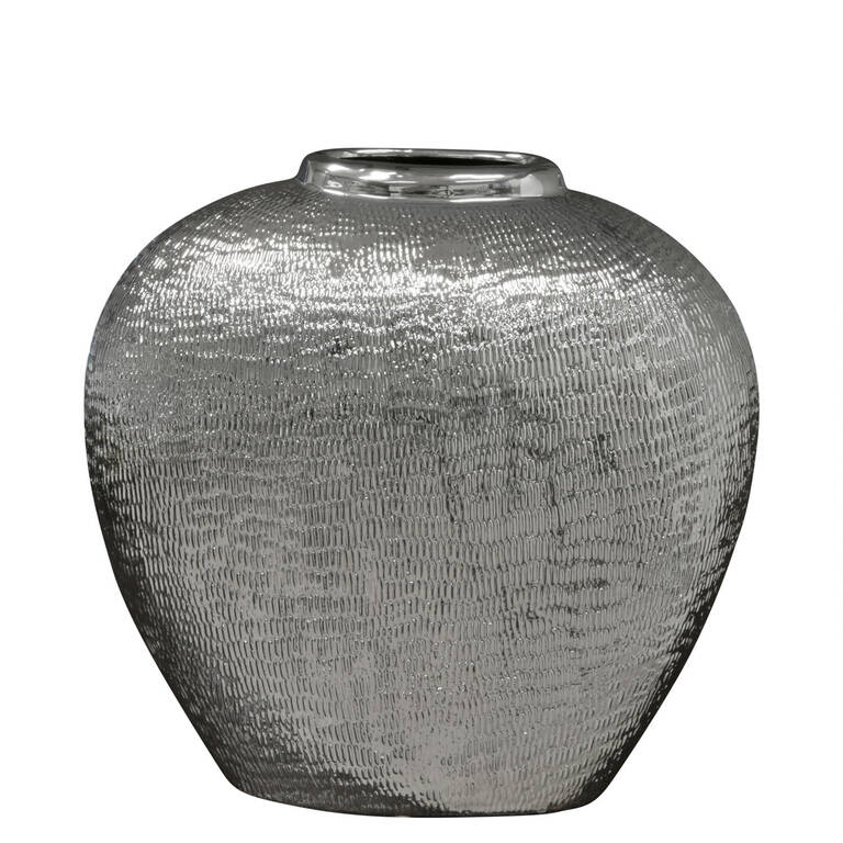 Tybalt Vase Small Silver