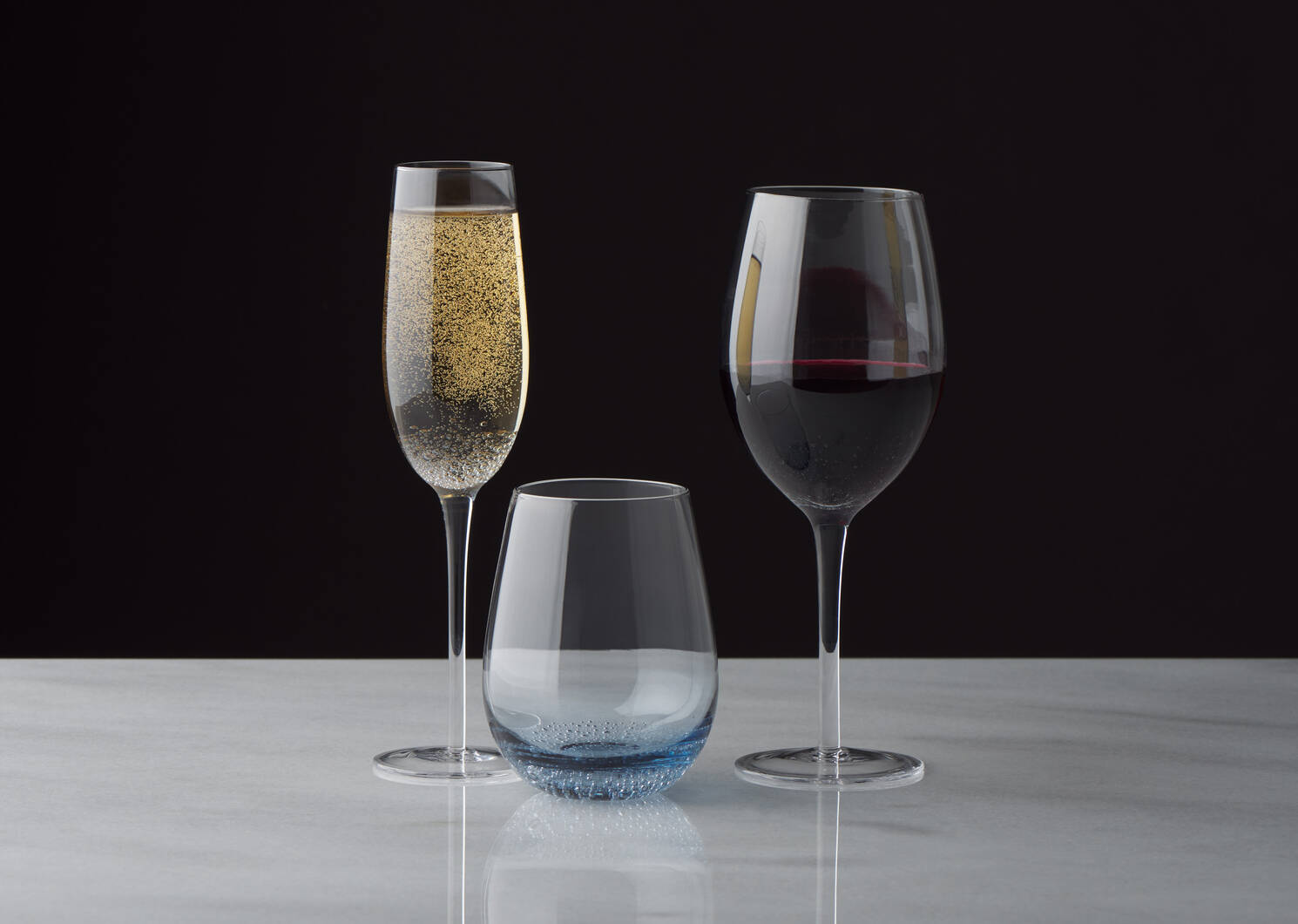 Joie Champagne Flute Blue