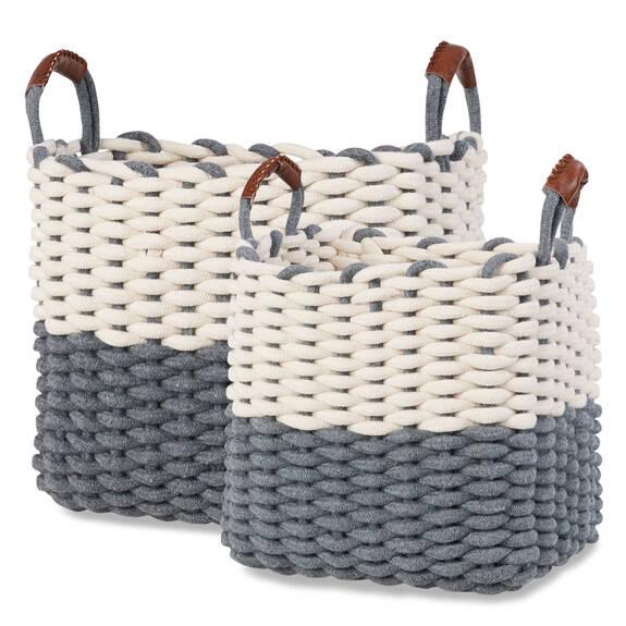 Corde Baskets - Natural/Grey