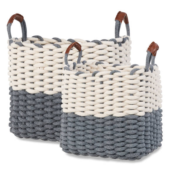Corde Baskets - Natural/Grey