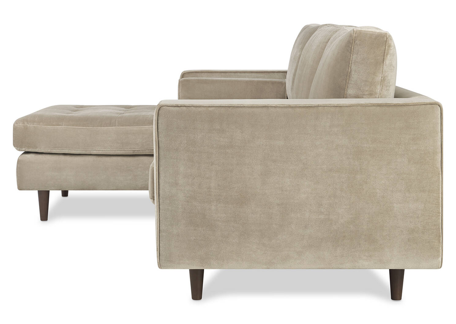 Reynolds Sofa Chaise -Gala Stone