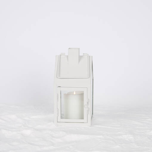 Myles Lanterns - White