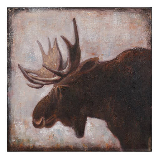 Rocky Moose Wall Art