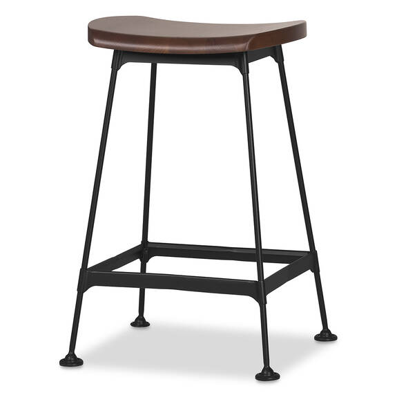 Nolin Counter Stool -Brown Ash