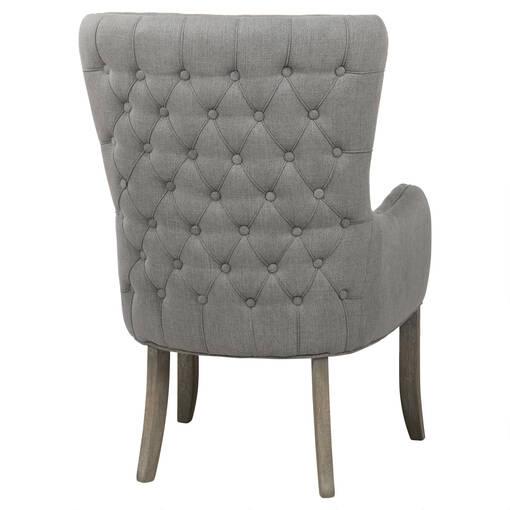 Oak Bay Host Chair -Nantucket Grey