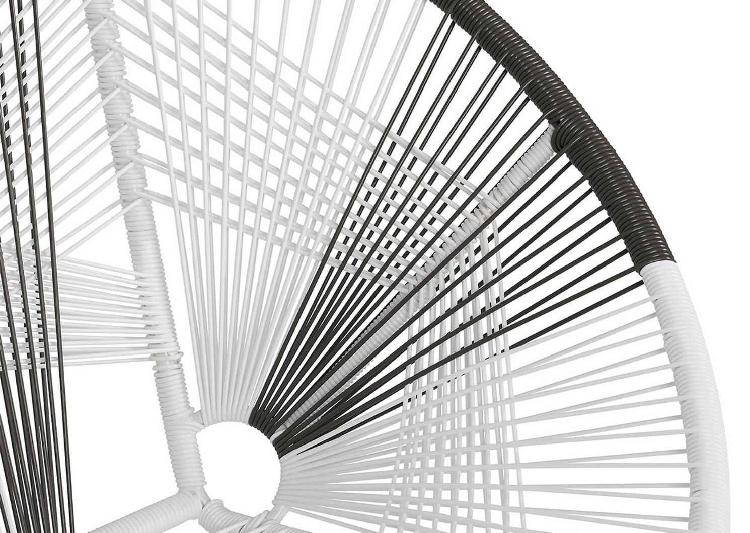 Porto Chair -White/Grey