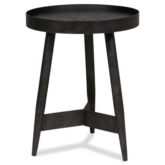 "Gibson Accent Table 22"" -Espresso Oak"
