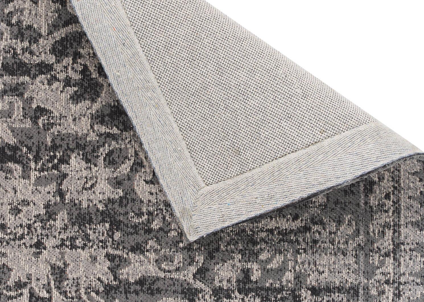 Estate Rug - Black/Grey