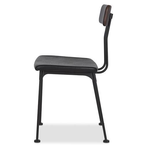 Chaise Gleason -noire