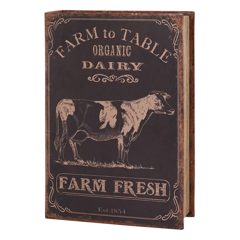 Farm Fresh Book Box Large Black