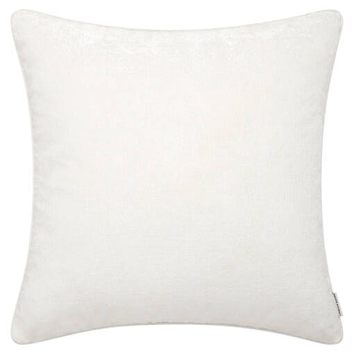 Coussin Clooney 24x24 blanc