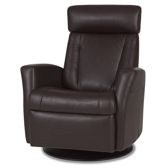 Gabriel Leather Recliner -Sol Cocoa