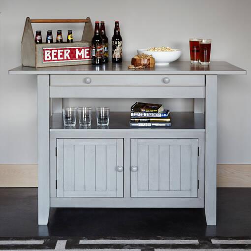 Table comptoir Cantina -Prairie gris