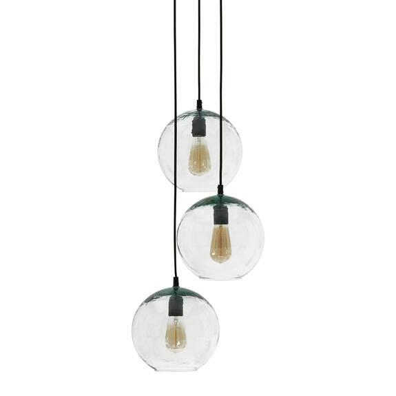 Nura 3 Light Pendant Lamp