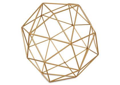 Briella Decor Ball Large Brass