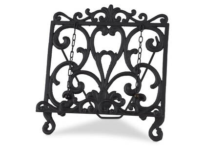 Olivia Cookbook Stand Black