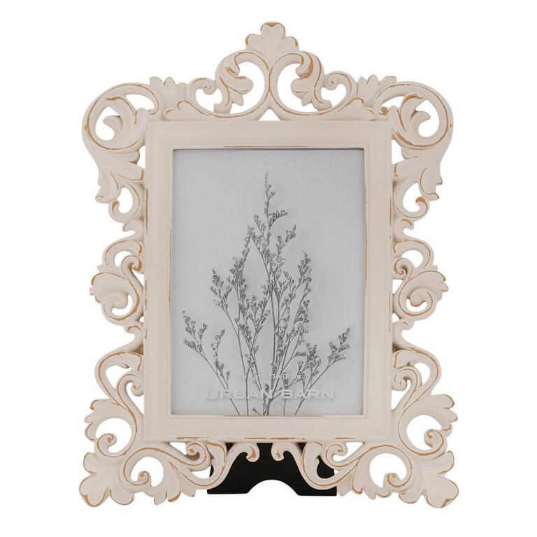 Lillianna Frame Vert. 5x7 Antique White