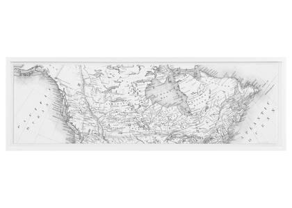 Canada Map Wall Art