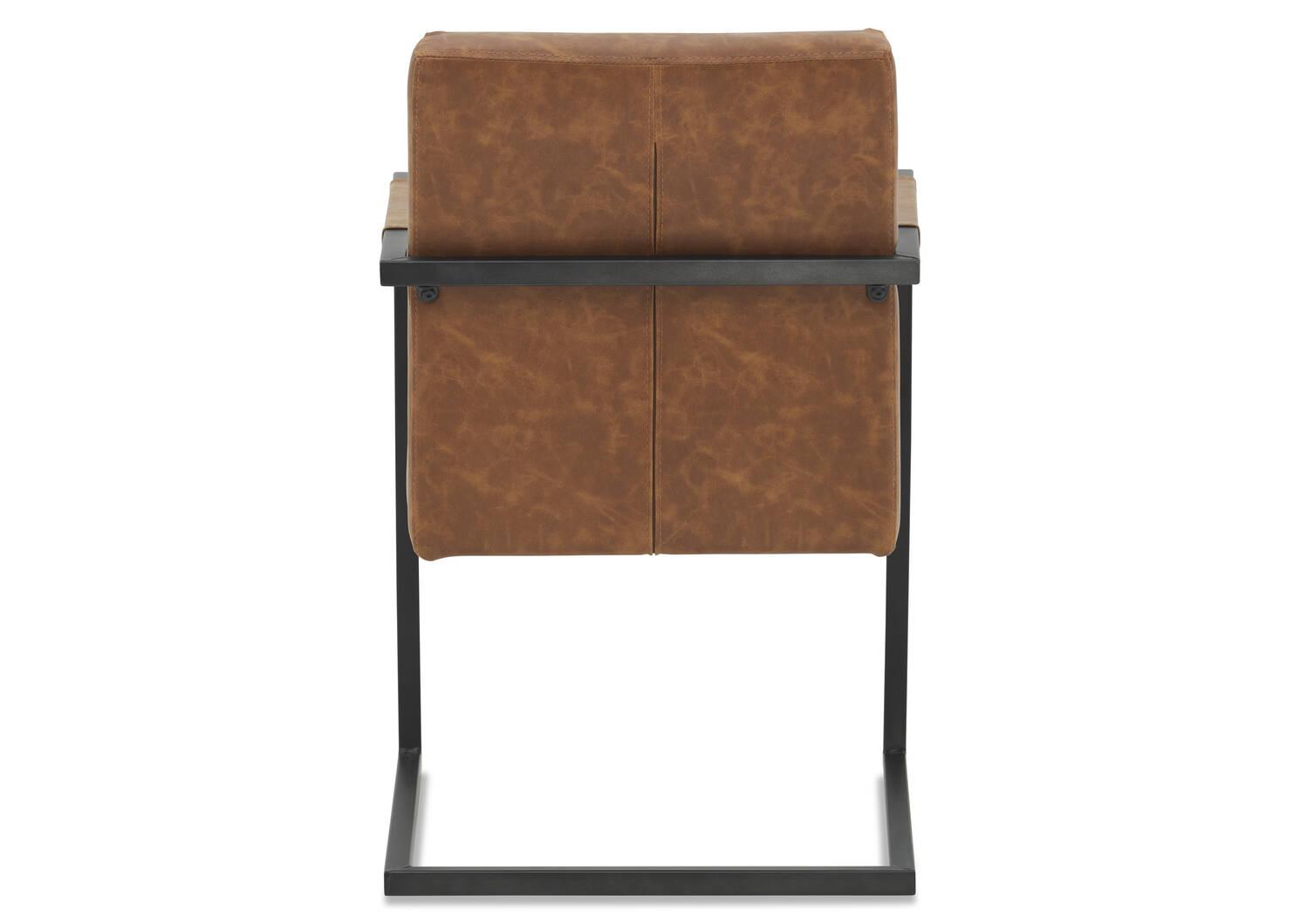Barkley Arm Dining Chair -Scott Cognac
