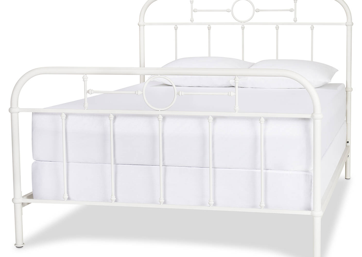 Izadore Bed -White