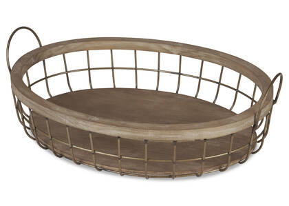 Haddon Oval Tray