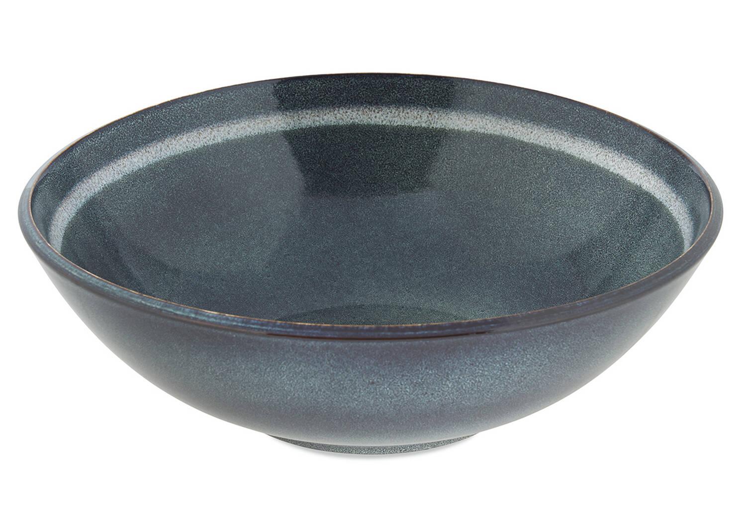 Salt Spring Serving Bowl Blue