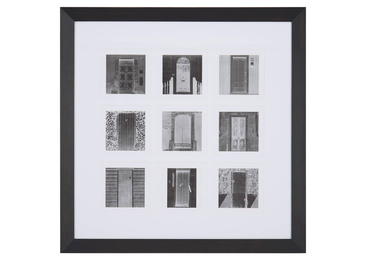 Elias Wall Frame 9-4x4 Black