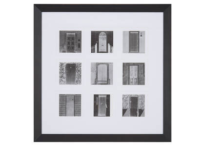 Elias Wall Frame 9-4x4 Black