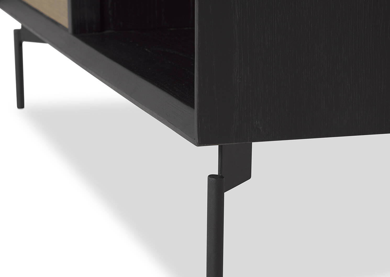 Table basse Melville -Raven terre ombre