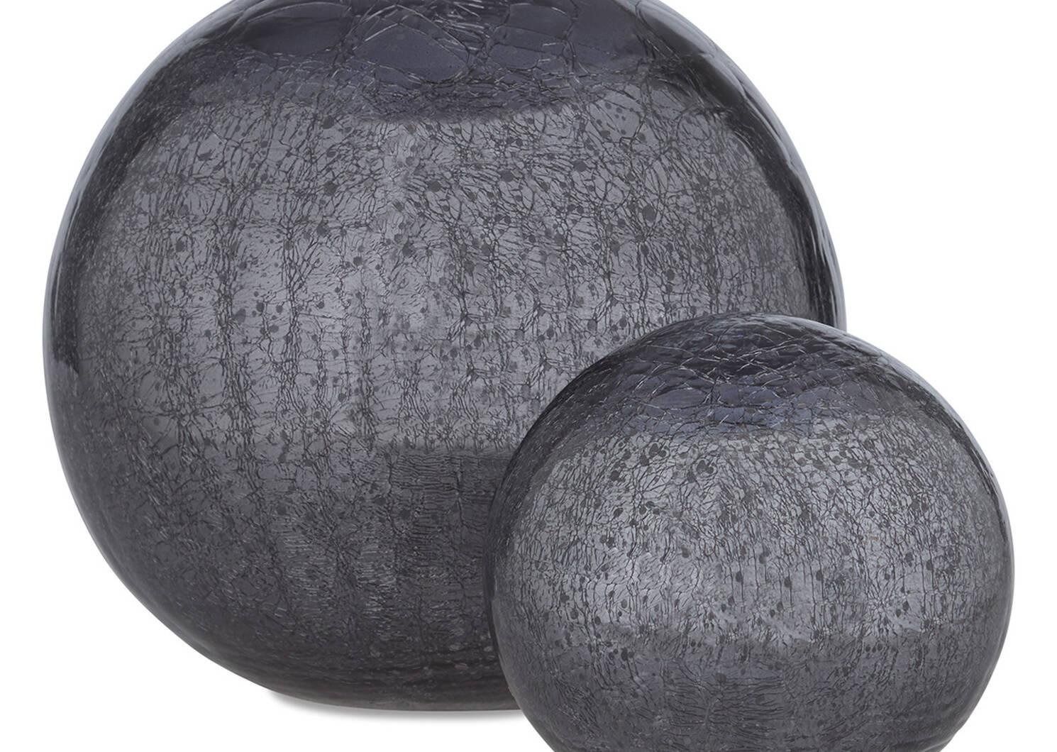 Donatella Decor Ball Small Charcoal