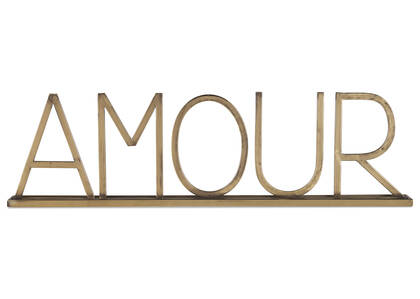 Amour Tabletop Decor