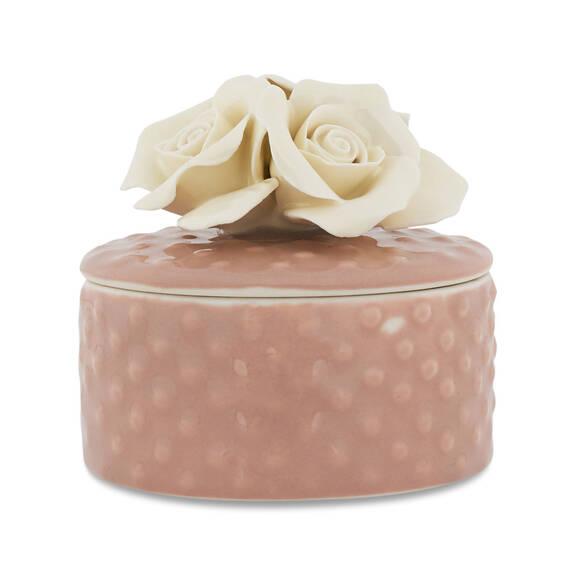 Boîte de bijoux Alyssa lait/rose ballet