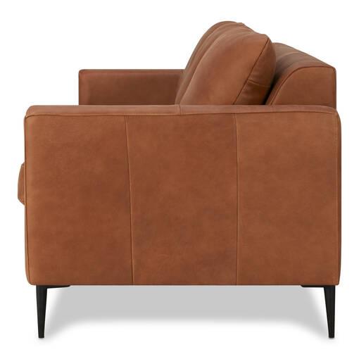 Marvelous Lucca Leather Sofa Attica Cinnamon Alphanode Cool Chair Designs And Ideas Alphanodeonline