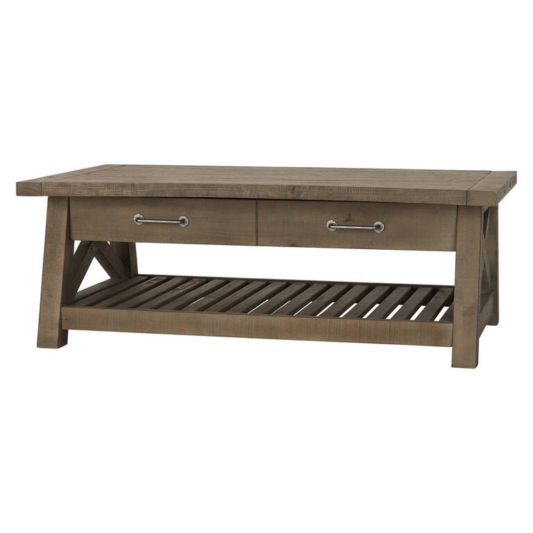 ironside lift top coffee table rustic. Black Bedroom Furniture Sets. Home Design Ideas