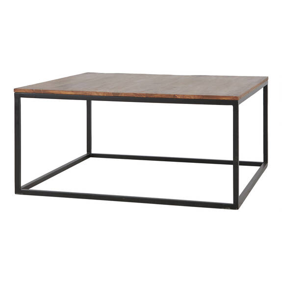 Crosby Square Coffee Table -Sheesham