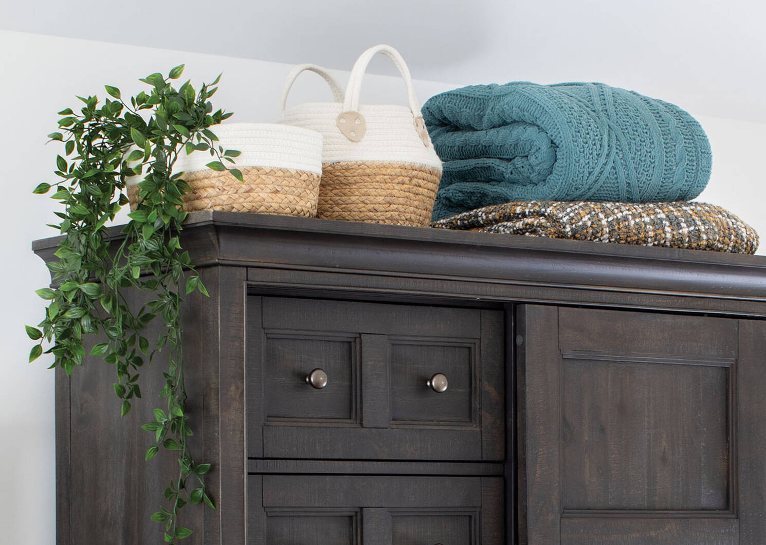 Constanza Basket Small Natural