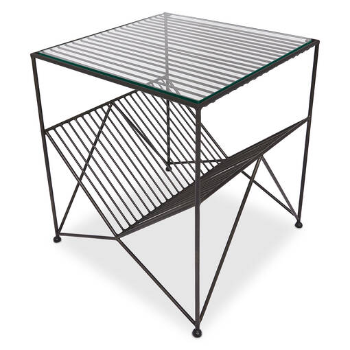 Harker Accent Table -Black