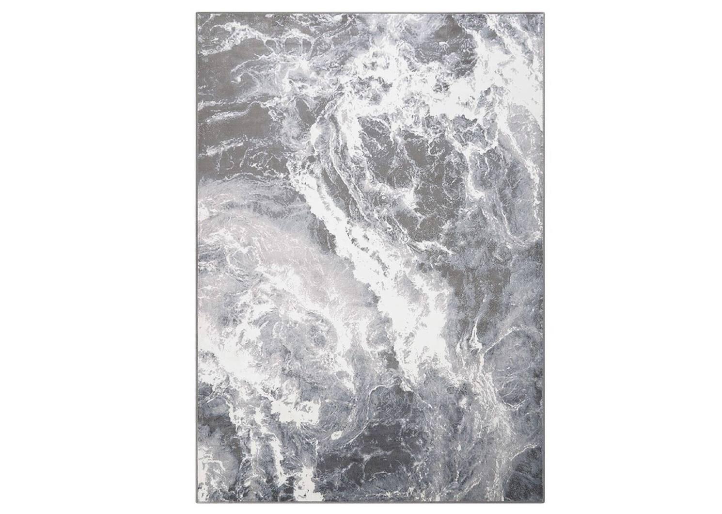 Tapis Thibault 79x118 naturel/gris
