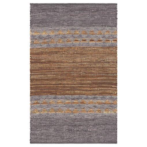 Ramya Accent Rug - Grey/Tan